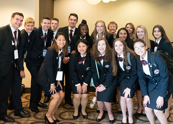 HOSA Student Competition Winners